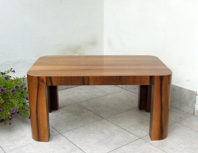 art deco walnut coffee table art deco style furniture occasional coffee