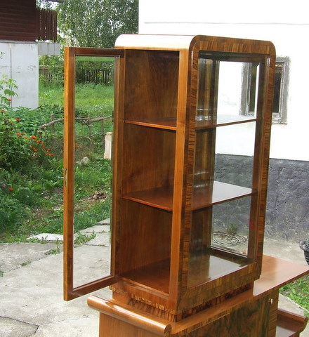 Art Deco Display Cabinet.